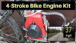 Dirt Bicycle Motorized 49cc 2-stroke Gas Petrol Bike Engine Motor Kit Scooter